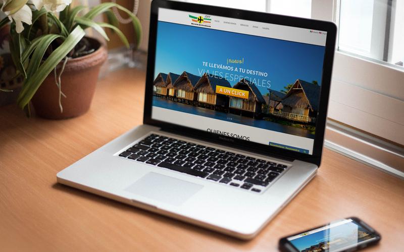 Diseño de Página Web TPV